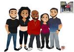 Bhonelwyn Chibi Family commission