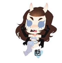 Sleepyyace mini spook commission