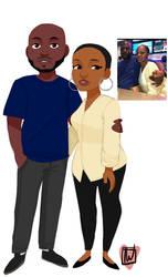 Thepetitebeauty Couple commission