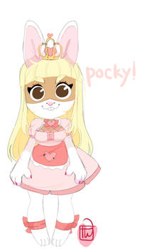 Arabellafox Pocky Oc commission