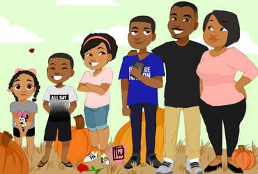 Broadwayfam 6 set family commission
