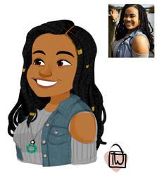 Jayfury202 bust portrait commission