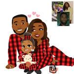 Lailasplayground 3 set matching family