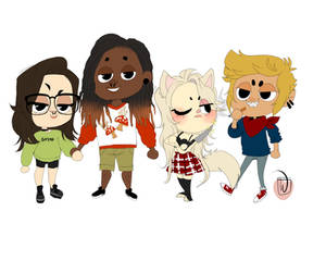 Brownie Gang animal crossing style