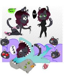 Cat Doodle Page commission