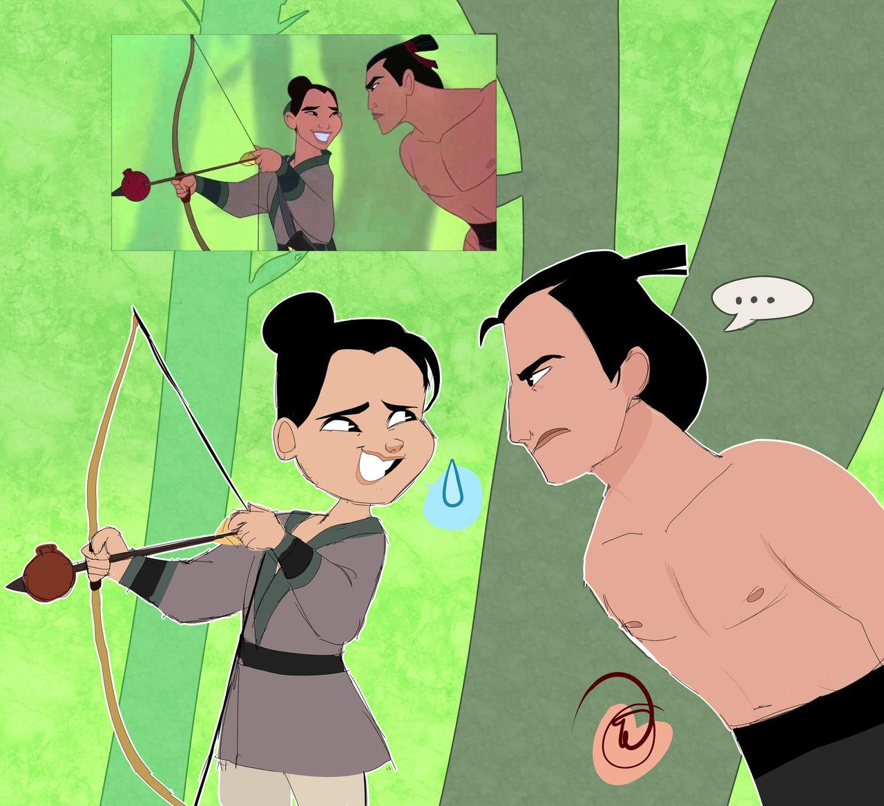 Mulan Screencap