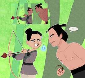 Mulan Screencap