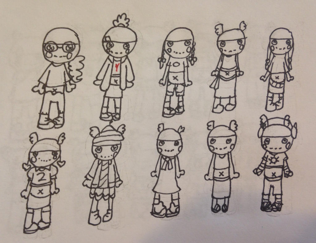 Tiny Might S Casual Clothes Concept By Carebeargirl99 On