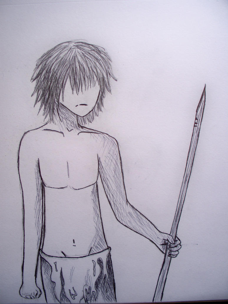 Jack-Lord of the Flies by wtrbenderLord Of The Flies Jack Drawing