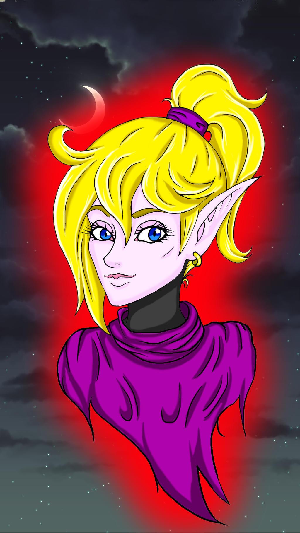 princess Anna sketch by tokiochrusade (colored) by ryuu-samazx