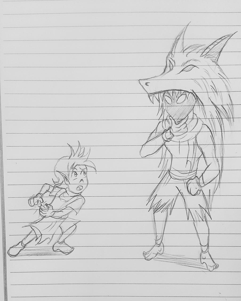 Carlo asked the Undying Spirit Warrior by ryuu-samazx
