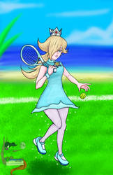Fanart journey No.7  Princess Rosalina