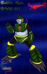 Bubble Man from Megaman Maximos 2