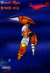 Crash Man from Megaman Maximos 2
