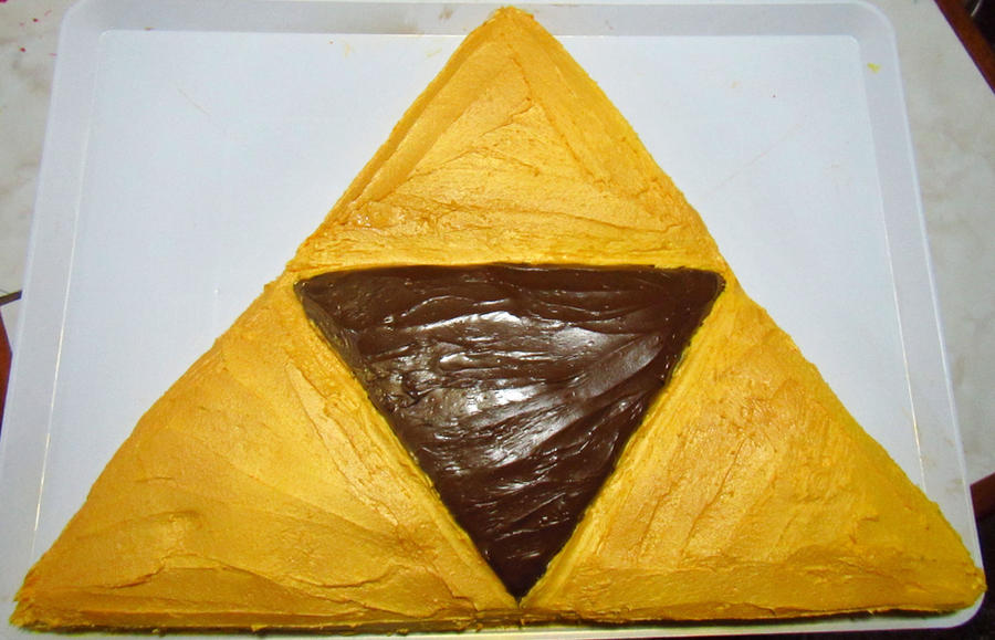 Triforce Cake By Dollmistressalice