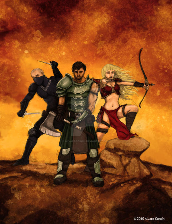 Heroes by Alvarocorcin
