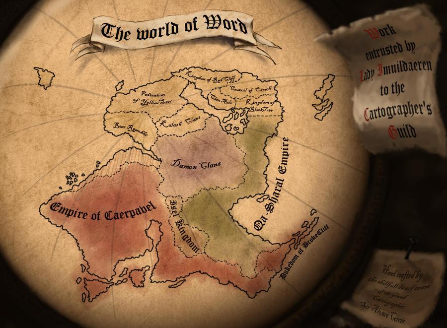 The world of Word by Alvarocorcin