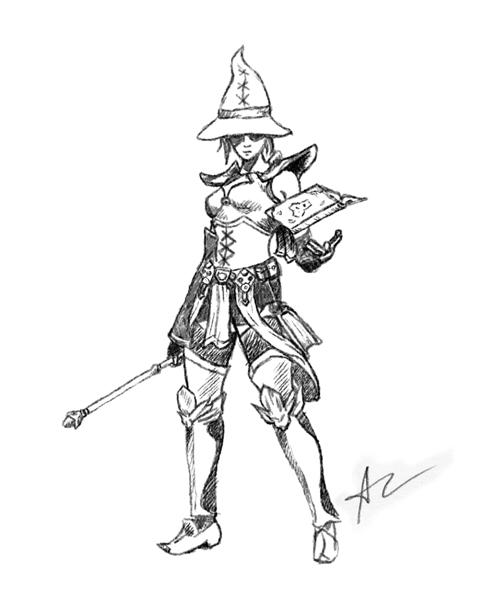 Atma the Wizard - Diablo 3 Fanart by Alvarocorcin