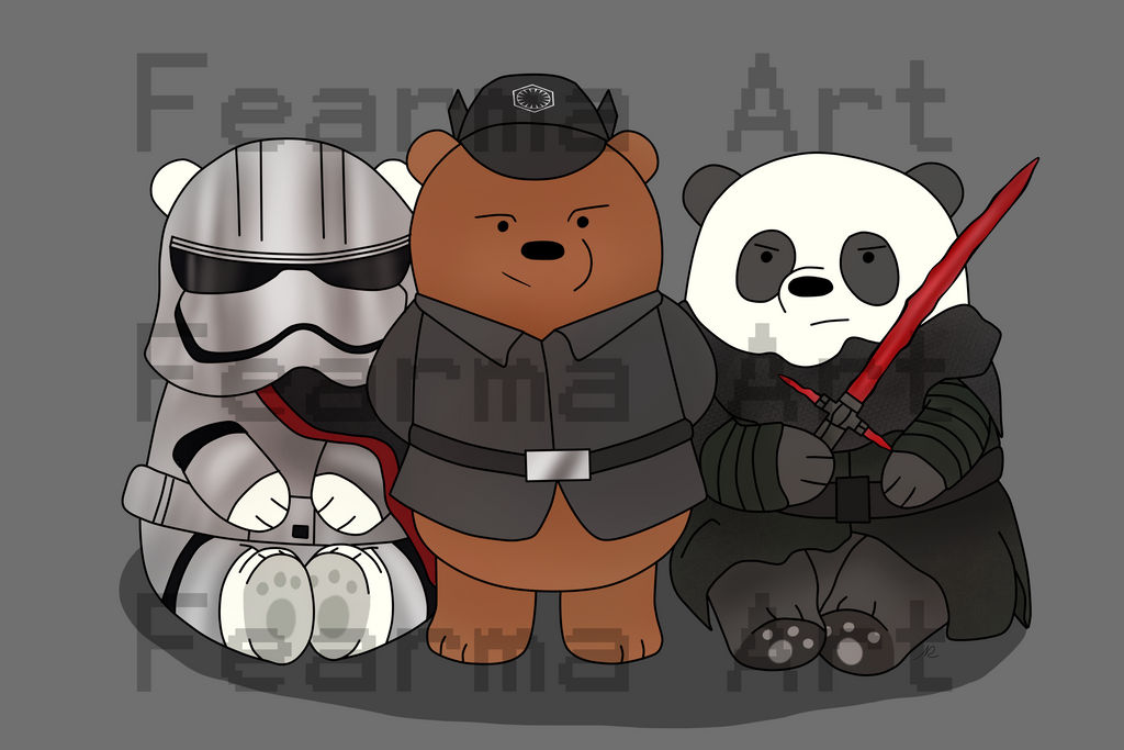 First Order- We Bare Bears