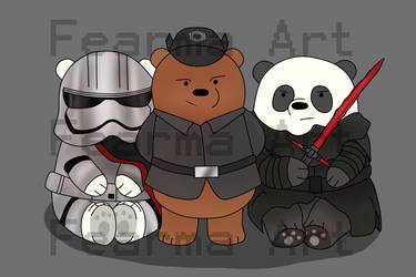 First Order- We Bare Bears by nickandsun17