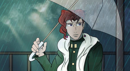 Noriaki Kakyoin Rain