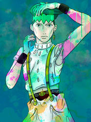 Painting with Rohan