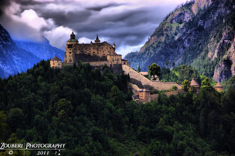 Hohenwerfen Castle HDR