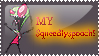 My SqueedlySpooch stamp by WIchickenman