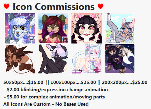 Icon Commissions OPEN