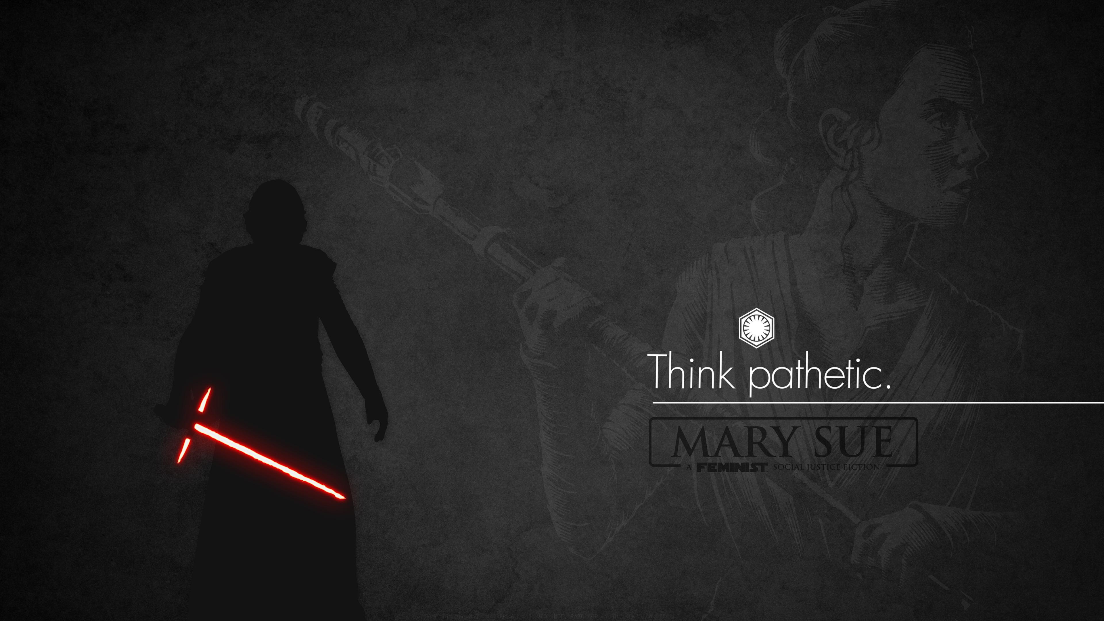 4k Wallpaper Ben Solo The Last Jedi Think Pathetic By Petraveoleno On Deviantart