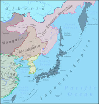 [WdV] Japanese Empire and South East Asia by Vladesu