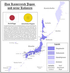 [WdV] The Japanese Empire and its colonies by Vladesu