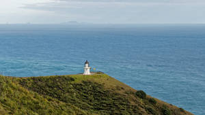 Cape Reinga and three Kings Islands by Deceptico