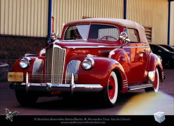 Packard Rojo by aladecuervo