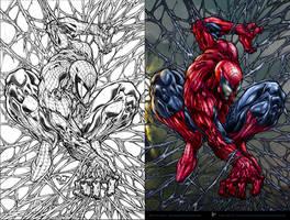 Amazing Spiderman by aladecuervo