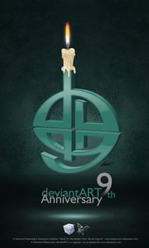 My 9th version logo