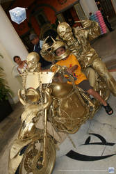 My son and the rider by aladecuervo