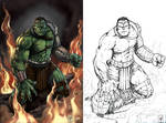 World War Hulk Colors