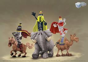 Los 3 reyes markers UPDT