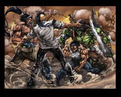 Dark Wolverine var Pages 02 03 by aladecuervo
