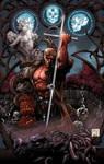 Hellboy Andy Brase colors by aladecuervo