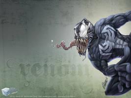 Venom toon by aladecuervo