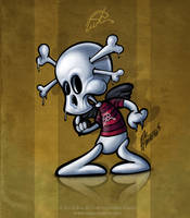 Aladecuervo Skull by aladecuervo
