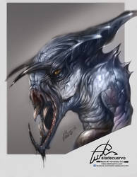Creature SK by aladecuervo