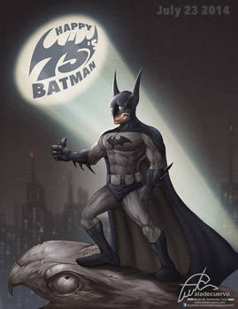 Happy 75's Batman