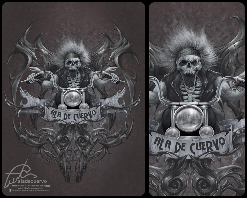 Ala de cuervo Rider V1 by aladecuervo