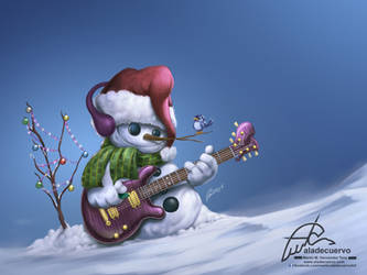 Merry Christmas 2014 by aladecuervo
