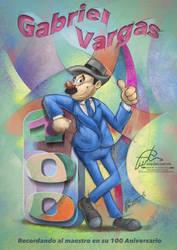 Recordando al maestro Gabriel Vargas by aladecuervo
