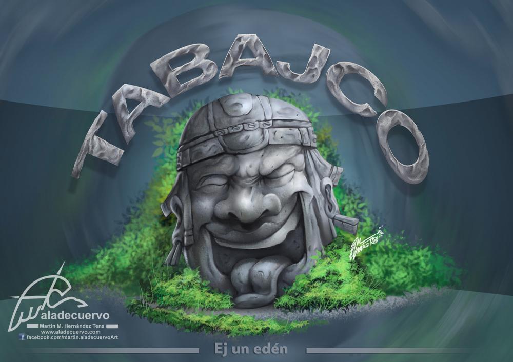 Cabeza Olmeca de Tabajco! by aladecuervo