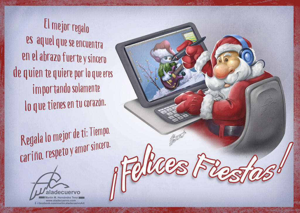 Feliz Navidad! by aladecuervo